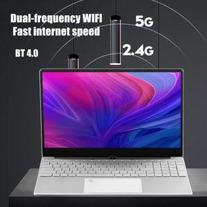 cheap Wholesale 15.6inch Netbook Computer Metal Laptop Gaming Business Office Portable Fingerprint New Unlock