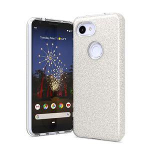 원 플러스 6T 1 반짝이 파우더 충격 방지 범퍼 보호 휴대 전화 케이스 커버 3 빛나는 위해