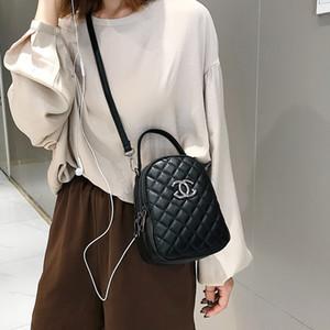La nueva ola de otoño e invierno 2019 de Corea ling línea bordado bolso del teléfono móvil Joker solo bolso diagonal de las mujeres