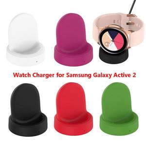 Беспроводное зарядное устройство для Samsung Galaxy Часы Активный 2 R820 R830, зарядка для док-подставка для Galaxy Watch Активный R500 Бесплатная доставка