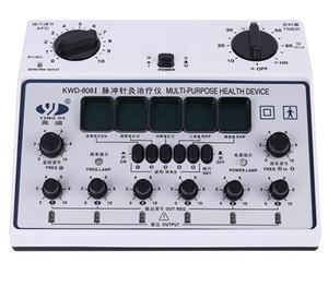 6 채널 수십 UNIT. 다목적 침술 자극제 건강 마사지 장치 KWD-808I acupuntura 전기 신경 근육 자극기