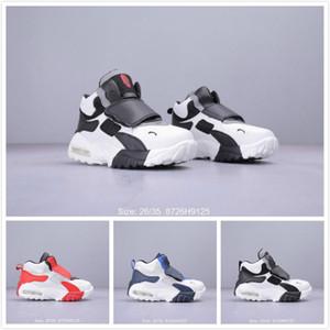 2020 çocuk kutusu ile büyüklük 26-35 Turf Basketbol Ayakkabıları Çocuk Moda Rahat Koşu büyük kızlar erkekler Klasik Sport Sneakers Hız