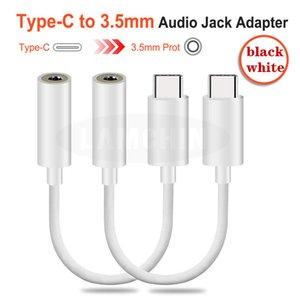 2020 Type-C на 3,5 мм USB кабель наушников адаптер 3,1 Тип C Самец 3,5 AUX Audio Jack Female для Type-C Smartphone