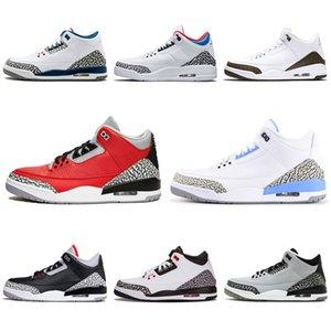 Scarpe di alta qualità 3 Denim Jeans Travis Jean blu Iv 3S Scarpe Nero Scarpe da ginnastica Sport Formatori di pallacanestro 41-47 # 199