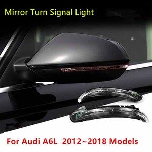 자동차 라이트 LED 동적 전원을 켜고 신호 사이드 백미러 표시 아우디 A6L 2,012에서 2,018 사이에 깜박이 리피터 등 적합