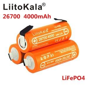atteries Baterias recarregáveis LiitoKala 3.2V Lii-40E-N célula de lítio 26700 LiFePO4 bateria recarregável 4000mAh para 24V powe e-bike ...