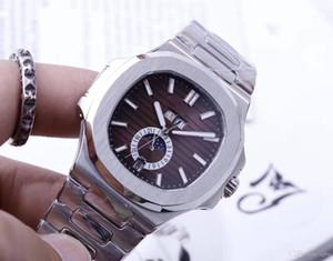 5726 / 1a-010 nautilus série high-end dos homens relógios mecânicos, série de esportes, relógios automáticos de marca dos homens, nautilus 3A series