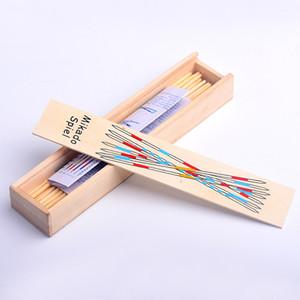 الأطفال البالغين خشبية لعبة عصا مربع معبأة سطح المكتب التقاط العصي حزب الكلاسيكية لعب دور ألعاب بيع حسنا 1 6dw J1