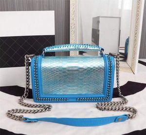original box Top quality designer handbag lambskin leather lady bag CF messenger bag chain shoulder bags designer luxury handbags purses 25