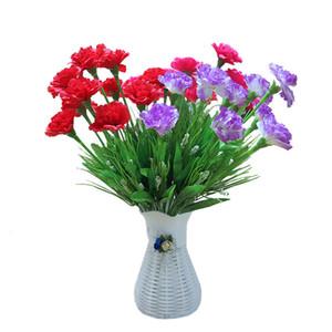 10 رؤساء الحرير الاصطناعي زهور القرنفل Gypsophila الزهور وهمية هدايا عيد الأم المعلم رخيصة الديكورات المنزلية A8040
