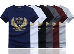 los hombres de alta calidad camiseta de la marca de ropa de verano 2020 para hombre del diseño de la nueva manera camiseta camisetas sueltas de impresión Y7 masculina