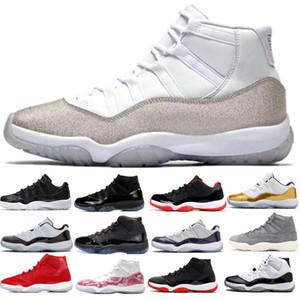 2020 infrarouges classiques 11s originales chaussures de basket-ball 11 respirant chaussures de course chapeau et robe Concord haut 45 de sport formateurs de mens
