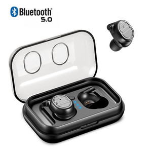 Tws 5 .0 Bluetooth Earbuds Mini-Kopfhörer Drahtlose Kopfhörer Sports freihändiger Kopfhörer Stereo Auriculares Für Telefone Xiaomi Iphone