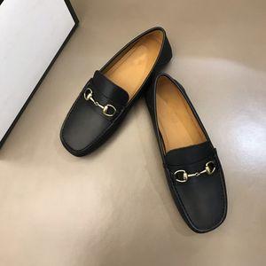 Nuevo 2020 para hombre vestido de lujo de los zapatos de cuero de los holgazanes ocasionales del slip Caballero sobre el Flat Oxford zapatos size38-44
