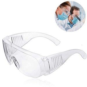 Protección de los ojos Gafas de seguridad en el trabajo clara polvo del viento anti-vaho Utilice gafas de Trabajo de Trabajo vidrios protectores