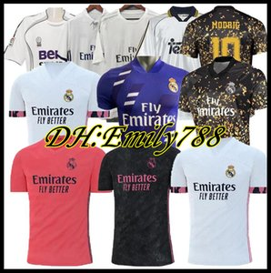 20 21 Real Madrid Home Футбол Джерси Опасность Maillot De Feps Sergio Ramos Benzema Marcelo Casemiro CamiSeta 06 07 15 16 Ретро футбол футбола