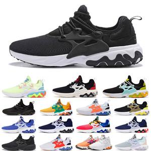 koşu ayakkabıları 2020 erkek kadın spor koşu yürüyüş sneaker eğitmen presto siyah plaj gün Ultra BR QS Sarı erkekleri tepki