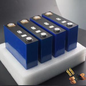 4pcs nouvelle 3.2V 120Ah batterie lithium LiFePO4 pppf cellules 4S solaires non 100Ah pour ev marine pack gratuit d'impôt de golf rv