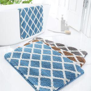 Anti-slip Home Entrance Carpet Washable Kitchen Floor Mat Set Water-Absorbent Doormat Living Room Area Rug rugs carpet
