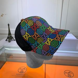 Erkekler Kadınlar Tasarımcı Şapka Lüks Beyzbol Marka Cap Gökkuşağı Harf Lüks Erkek Şapka Snapback Cap Ayarlanabilir Golf Cap 2020671K Caps