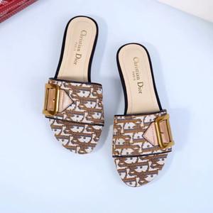 New Designerluxury Shoes Mulheres Brandsandals Mulher Praia Sandal Moda Causal Designerslipper Verão Slides Shoes 20021603T