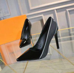 Dress high heels patchwork split color ladies fashion shoes Sexy stilettos genuine leather open On formal high heel slingbacks sandals
