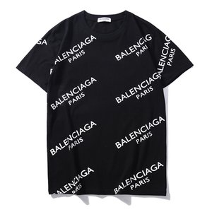 20ss Sprint verão T-shirt Moda Masculina Tees Luxury Design do Mens Streetwear Hip hop T Cotton Tshir