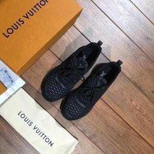 2019 zapatos de diseño de lujo de la marca de moda diseñador de las mujeres Zapatos de Oro escotado de cuero de los hombres zapatillas de deporte planas casuales 36-44 C03