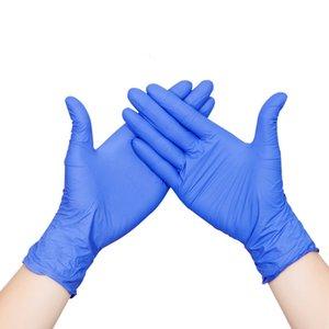 Los guantes de nitrilo sin polvo examen desechables de látex vinilo de PVC de plástico de mano Proveedores de goma desechables Guantes en Venta