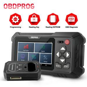 OBDPROG 501 Auto Key Master EEPROM Pin Code Immo Car Remote Key Programmer PK X300 DP Pro4 X100 PAD2