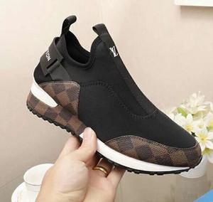 caldo nuove zz partito scarpe da sposa donna degli uomini camoscio nero con i punti neri punta superiori bassi scarpe da ginnastica, scarpe causale disegno Dimensione 35-45 c16