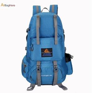 Hot Outdoor-40L Climbing Rucksack Wasserdicht Hohe Qualität Kapazität Trekking Reisen Rucksäcke Männer Frauen Tactical Sport Wandern Bag