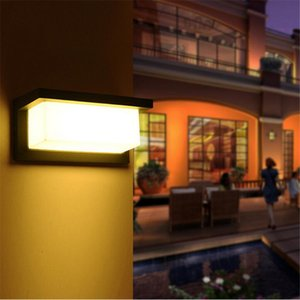 10w LED Mounted jardin lampe murale extérieure étanche Lampe LED lumières de mur Balcon Spotlight pour ourtyard villas Décoration