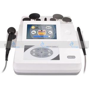 Tecar diatermia monopolar de radiofrecuencia RF Cara de apriete Tecar Terapia Anti arrugas adelgazamiento del cuerpo CET RET RF fisioterapia Máquina