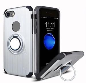 Sıcak Yeni 360 Halka Parmak Manyetik Tutucu Tpu Telefon Kılıfı Için Alcatel idol 5/6060 ZTE Z982 Zmax Pro Z981 Için walters