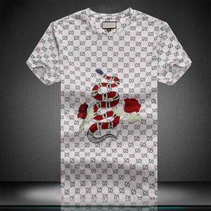 Mens progettista magliette Fashion Designer Mens Abbigliamento casual Estate shirt Streetwear Designer Rivet miscela del cotone con girocollo manica corta M4