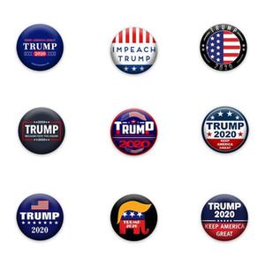 chaud Trump 2020 Président Trump Brooches Election Bannière Badge Keep America Great Donald Trump Election Badge Armband Pins T2I5804