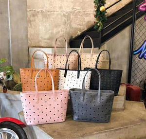 Famous designer designs high-quality classic shopping bags original pair of flower cut mother-and-child bag handbags, small bags used alone