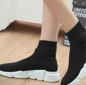 2020Big Size Speed Trainer Sock Men Women Casual Shoes Stretch-knit Mid 7.5 11.5 35 42 44 46