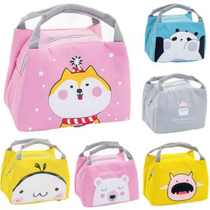 Cute Girl Ladies Girls Kids Portable Insulated Lunch Bag Box Picnic Tote Cooler Lunch Box Bags School Lunch Bags Dropshipping