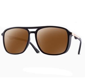 Oversize-Rahmen Sonnenbrillen 2020 Schild Sonnenbrillen Brillen übergroße Sonnenbrille-Kontrast-Farben-Partei googles Augen-Glas-8114