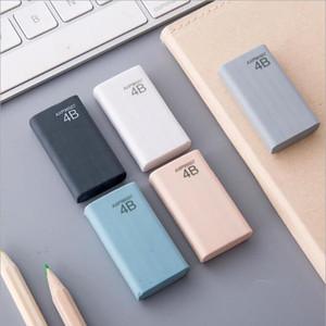 학교 공급 지우개 한국 편지지 고품질 연필 지우개 학생 편지지 멀티 색상 소매 가방