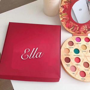 Новый IMEAGO Pizza Eye палитра теней 18 цветов теней для макияжа Delicious Начинки Матовый переливается Bronzers палитры Blush