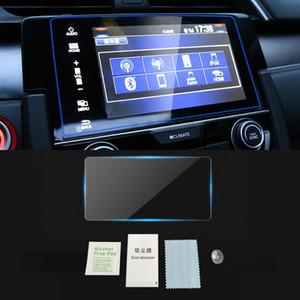 Para HONDA CIVIC 2016 2017 2018 2019 Auto Car tela de monitor de navegação GPS de protecção de vidro temperado Film etiqueta Acessórios