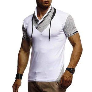 Summer Male Short Sleeved Tops Casual Stylish Tees Clothes Designer Mens Tshirts