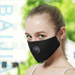 Free DHL PM2.5 Mouth Masks Anti Dust Smoke Germs Gas valve Face Mask Reusable respirator mask with 2 Disposable Filters