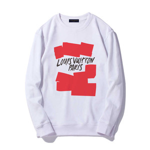 LOUIS VUITTON LV Nouveau Hoodie Hip Hop Sweatshirts Hommes Femmes Hommes Femmes Designe Sweats à capuche de haute qualité manches longues pour hommes Veste à capuche Taille S-XXL