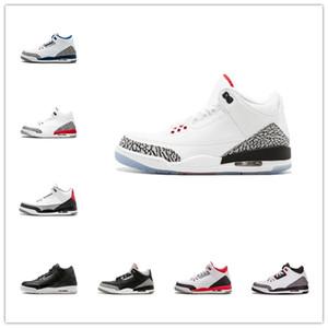 chaussures de basket-ball de Jumpman 3 3s animaux farceur instinct NakeskinJordan chicago UNC SE feu Tinker blanc noir entraîneur Baskets mode Homme