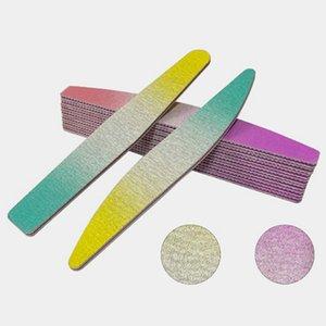 Ponçage de lime à ongles Tampon bloc Fichiers manucure pédicure Outils papier Strip Sand Bar Set File Tools Cirage Nail Art Portable