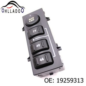 HLLADO Car Front Left Driver Side Electric Power Window Switch Button 19259313 For G M C S ierra S ilverado C adillac A valanche